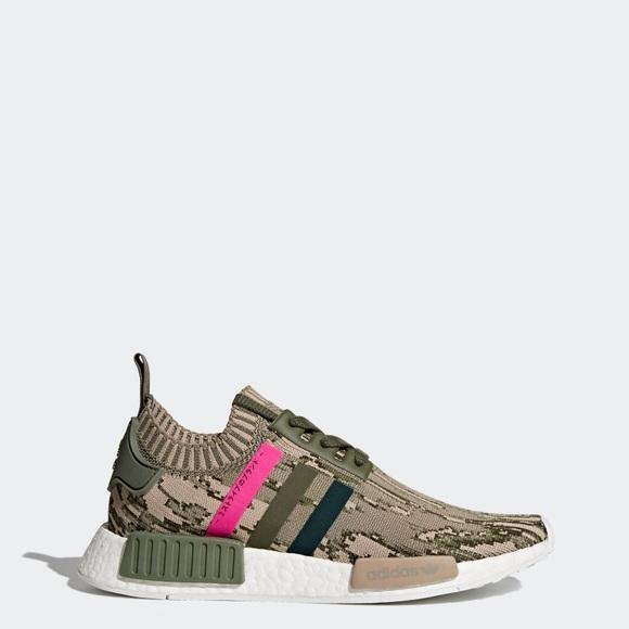 2672d67ba8894 adidas Shoes | Originals Boost Nmd R1 Primeknit Camo Pink | Poshmark